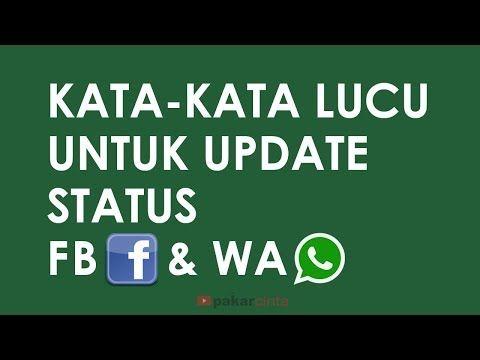Kata Kata Lucu Untuk Update Status Fb Youtube Lucu Youtube