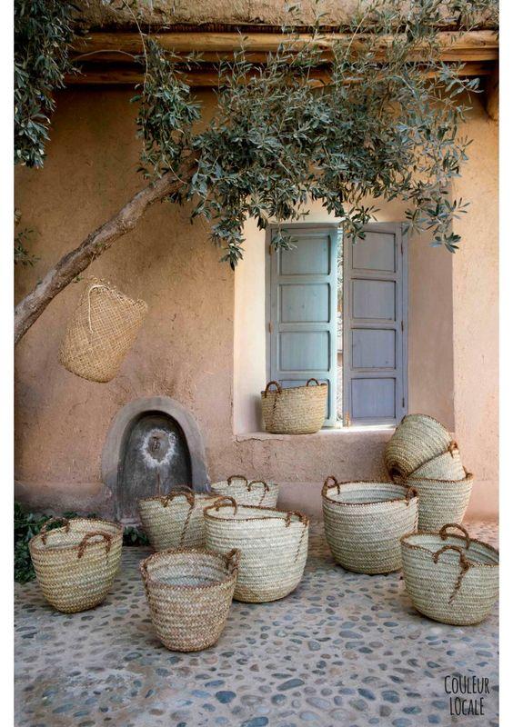 Moroccan market basket: