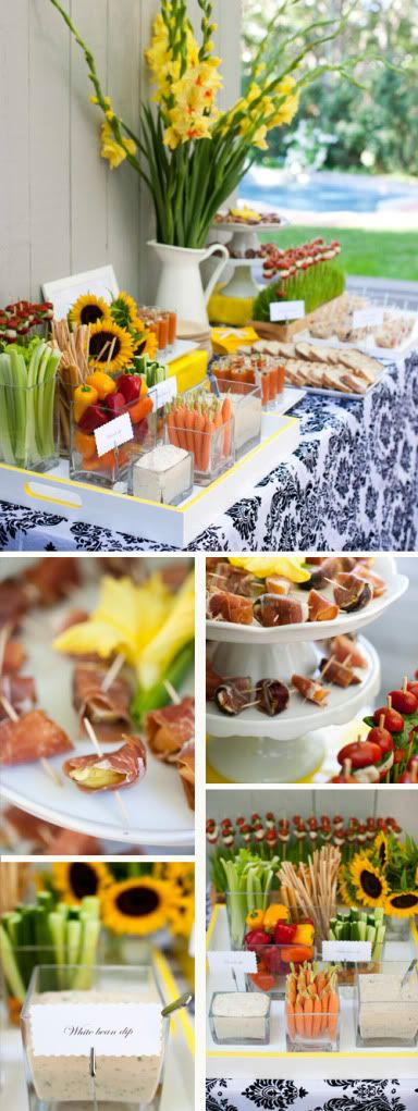 Buffet bodas and ideas para on pinterest - Mesas para buffet ...