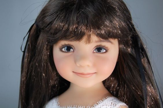 "Dianna Effner's Little Darling #3 ""Savannah"" Rare Exquisite Vinyl Doll NIB"