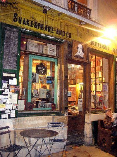 Shakespeare & Company Bookstore, Paris