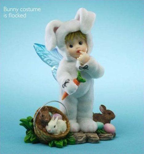 My Little Kitchen Fairies Fuzzy Easter Bunny Fairie