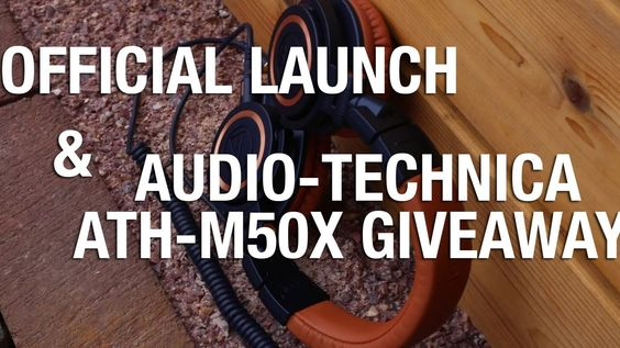 Giveaway: Audio Technica ATH M50x (Limited Edition BL)