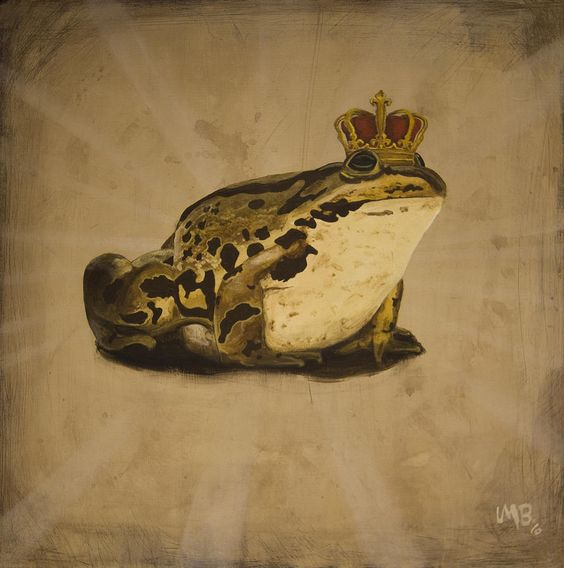 Frog Prince Painting by Lance Berka