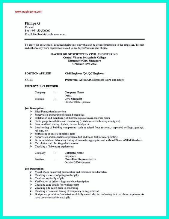 Full Resume Format   Resume Format Download Pdf