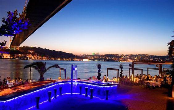 Restaurante Lacivert, Estambul, Turquia