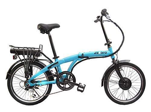 Integra Ampere Blue Folding 24 Volt Electric Bike With Images