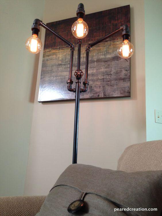 floor lamp industrial furniture floor lamps industrial lamps furniture. Black Bedroom Furniture Sets. Home Design Ideas