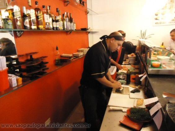 Kaminari Sushi, rodízio japa em Pinheiros
