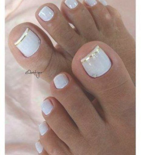43 Trendy Wedding Pedicure Ideas Toenails Beautiful Wedding Pedicure Pretty Toe Nails Summer Toe Nails Cute Toe Nails