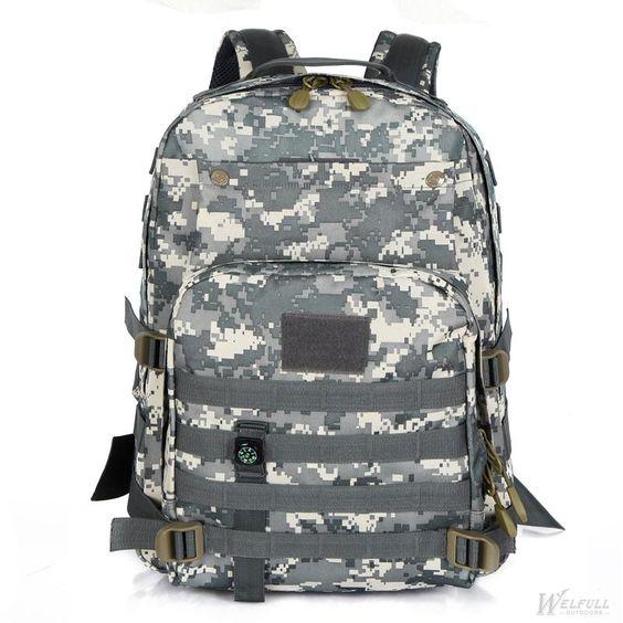 Outdoor Sport Camping Trekking Military Waterproof Backpack: you ...