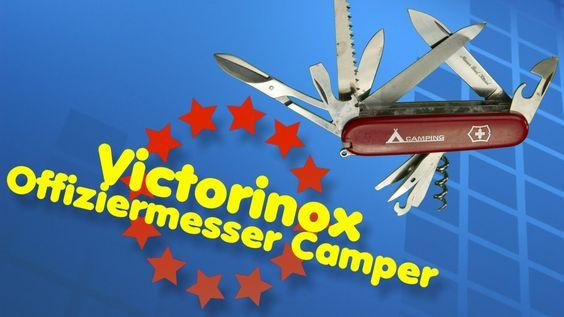 Victorinox Offiziermesser Ranger Camping Taschenmesser