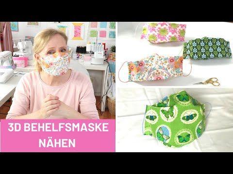 Mundmaske Nahen Mit Filtertasche Und Draht Gummiband Bmns Maskezeigen Maskeauf Youtube In 2020 Masken Gummiband Stoffkunst