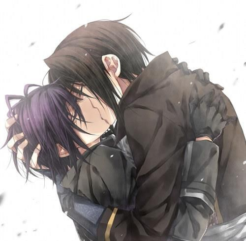 ciel and sebastian kiss - photo #1