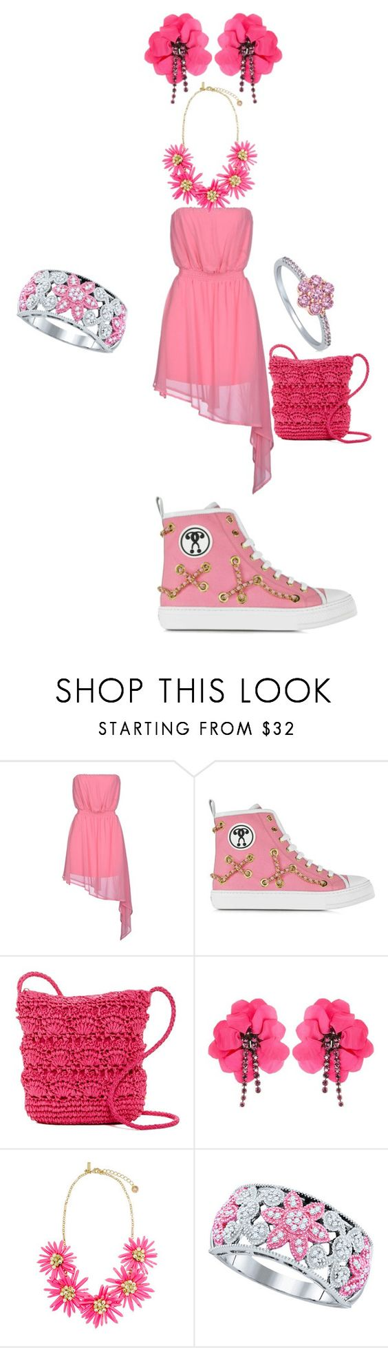 """""""Untitled #176"""" by kassidyrobinson on Polyvore featuring Noshua, Moschino, Magid, Lanvin and BERRICLE"""