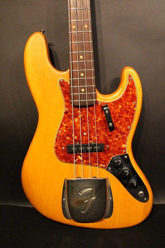 Fender Jazz Bass 1964 In Natural Refinished No Case No1 Guitar Center Gmbh Reverb Fender Jazz Bass Fender Jazz Fender Bass Guitar