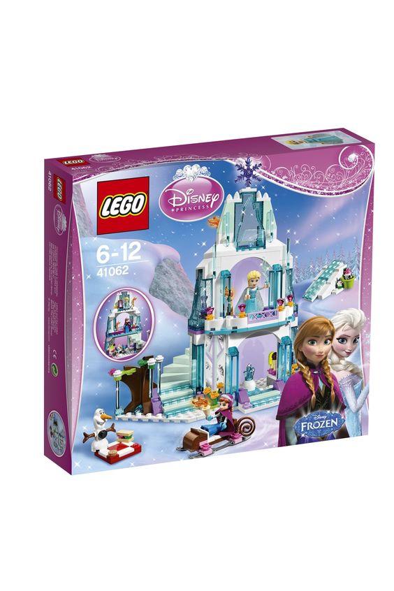 le palais de glace delsa lego disney princesses