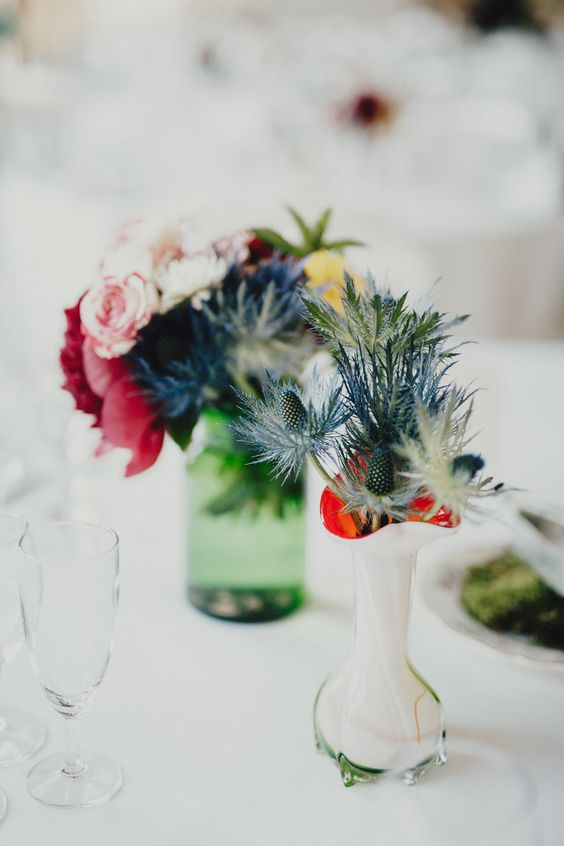 Flowers by Laetitia Mayor | floresie.com, picture by Sébastien Boudot, France #wedding #rock #chic