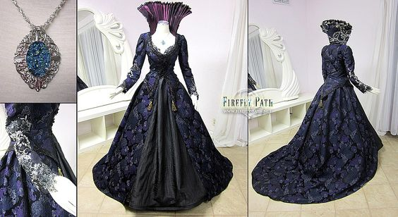 Regina Mills Gown -fireflypathbridal  (Note: I wonder if it is inspired by OUAT or they actually made it for the show)