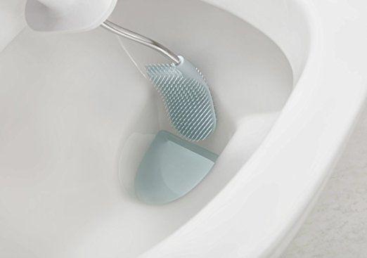 Joseph Joseph Bathroom Flex Smart Toilet Brush With Holder White Blue Amazon Co Uk Kitchen Home Smart Toilet Toilet Brush Bathroom