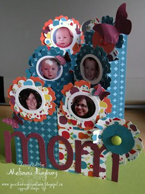 Happy Mother's Day Cascading Card