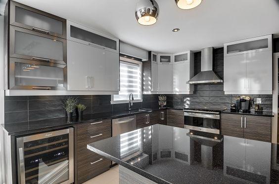choisir son comptoir de pierre granit quartz ou dekton cuisine pinterest sons and cuisine. Black Bedroom Furniture Sets. Home Design Ideas