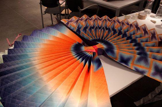 L origami en tenue de soiree