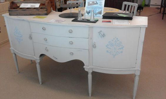 French Style Sideboard by GwerDenStudio on Etsy