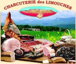Charcuterie des Limouches et La caillette de Chabeuil, un petit pâté de forme ronde composé de foie et de viandes de porc aux fines herbes.