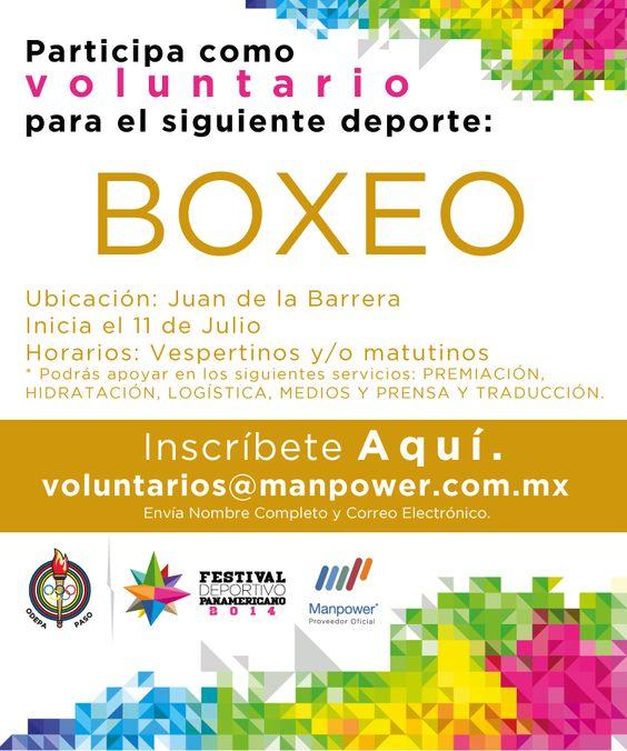 Inscríbete como voluntario voluntarios@manpower.com.mx