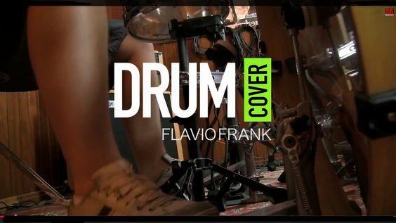 FLÁVIO FRANK - FREAK ON THE LEASH (Korn) - Live at Basic Tapes Studio #basictapes #drumcover