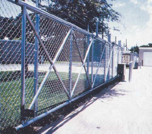Chain link fences are a great low cost fences One of the main