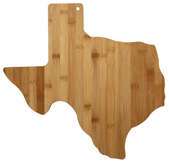 Texas state cutting & serving board housewarming gifts