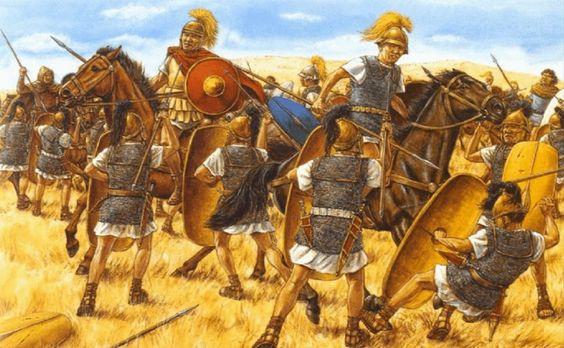 Batalla de Farsalia 48 a.C.