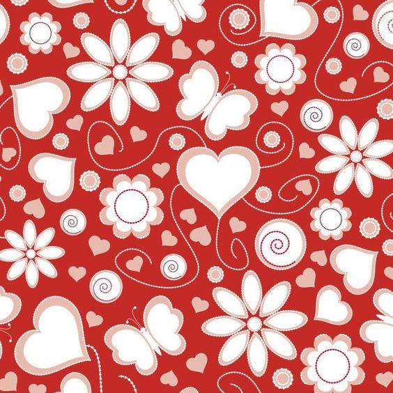 Amor Vermelho com Branco