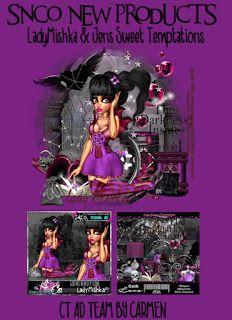 Carmen designs: Gothic Beauty Love