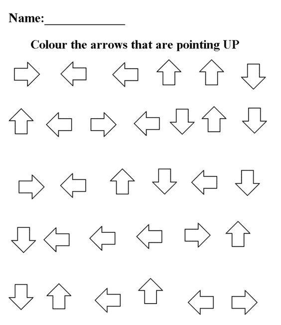 opposite preschool worksheets – Opposite Worksheets