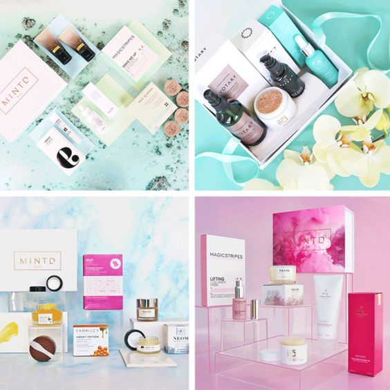 Mintd Box Travel Size Products Gifts Most Popular Subscription Boxes