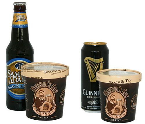 It's official: Heaven has arrived on earth. Get your beer-infused ice cream from The Brewer's Cow - choose from Guinness, Ten Penny Ale & Samuel Adams. Which would be your choice??