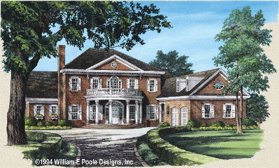 William poole evergreen house plans pinterest house for William poole homes
