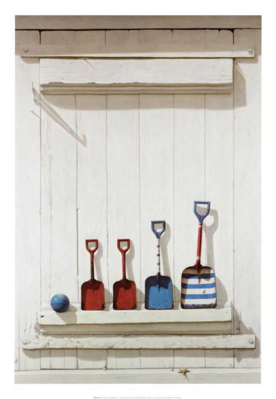 Summer Shovels by David Brega, via art.com