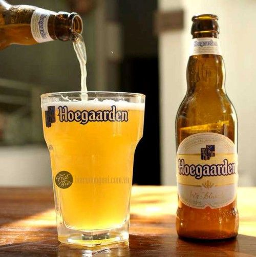 bia hoegaarden có cặn