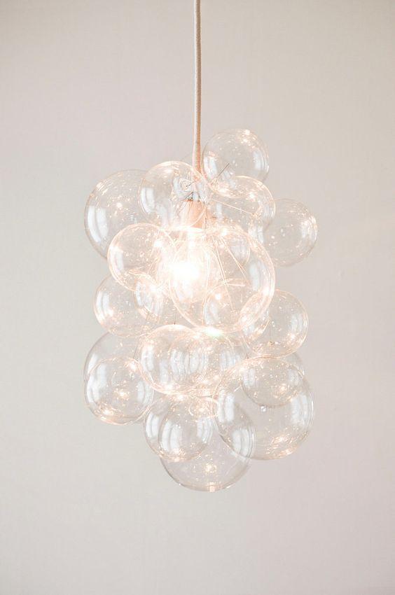 DIY Bubble Chandelier - http://www.casasugar.com/DIY-Bubble-Chandelier-8478784