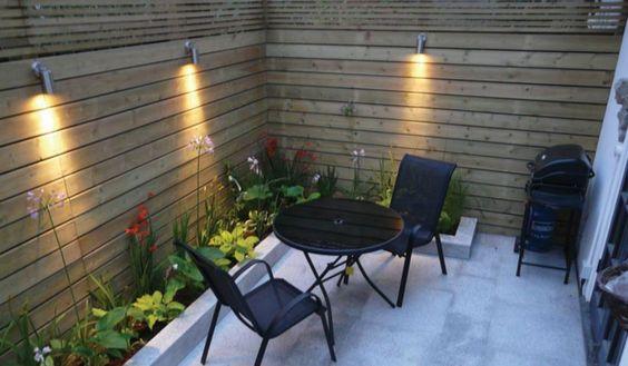 10 ideas para decorar un patio muy peque o ideas y patio - Patio pequeno ideas ...
