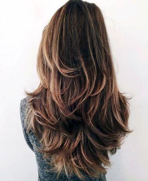 Katli Sac Kesimi Long Wavy Haircuts Haircuts For Long Hair With Layers Long Hair Styles
