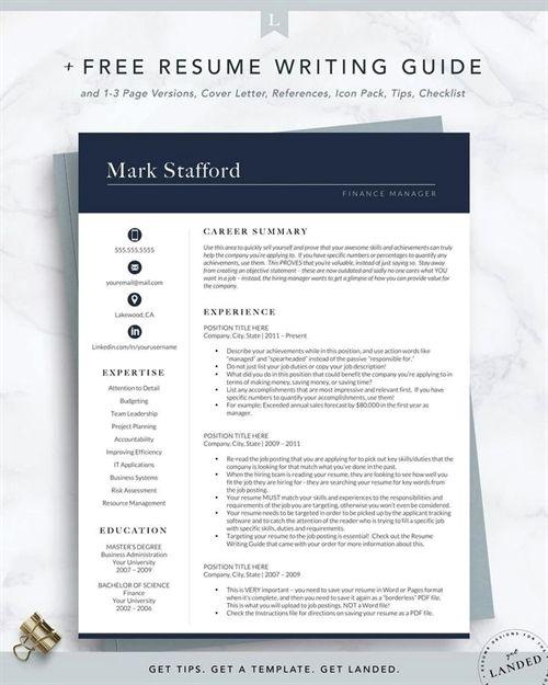 Pin By Amanda Elizabeth On Professionalism Executive Resume Template Resume Template Professional Resume Template