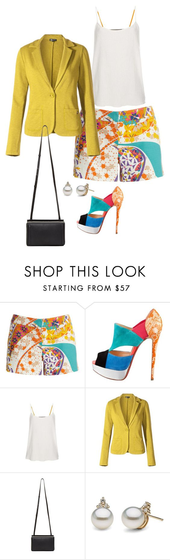 """Untitled #3781"" by bbossboo ❤ liked on Polyvore featuring Trina Turk, Christian Louboutin, Paul Smith and rag & bone"