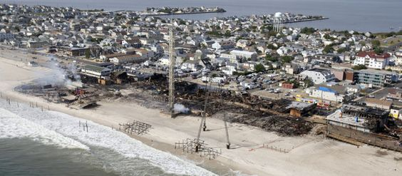 Christie plans $15M in aid after NJ boardwalk fire