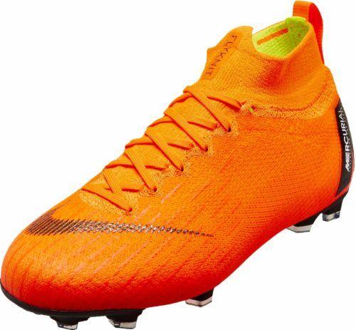 Nike Kids Superfly 6 Elite Fg Orange Nike Cleats Nike Cleats Kids Soccer Cleats Nike Kids