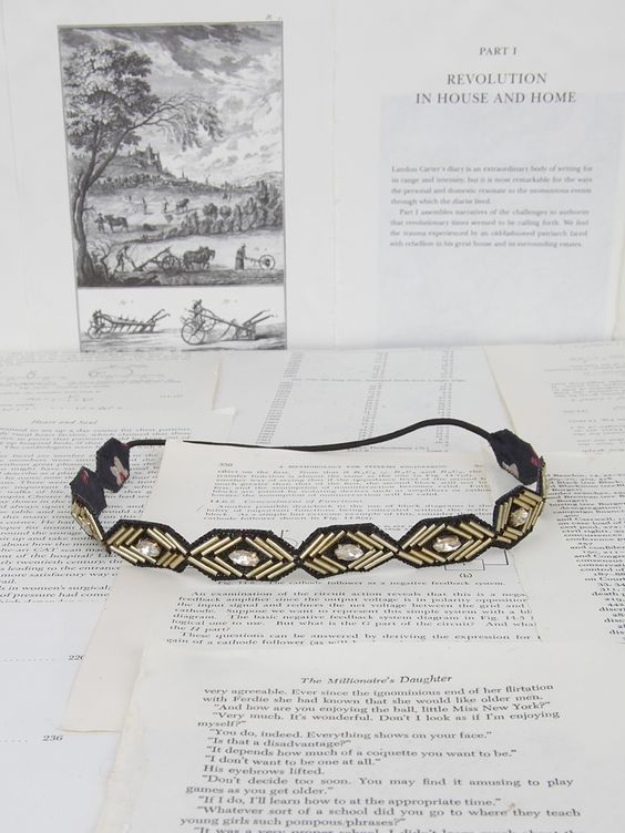 The Roxi Headband in Gold - Headbands - Accessories
